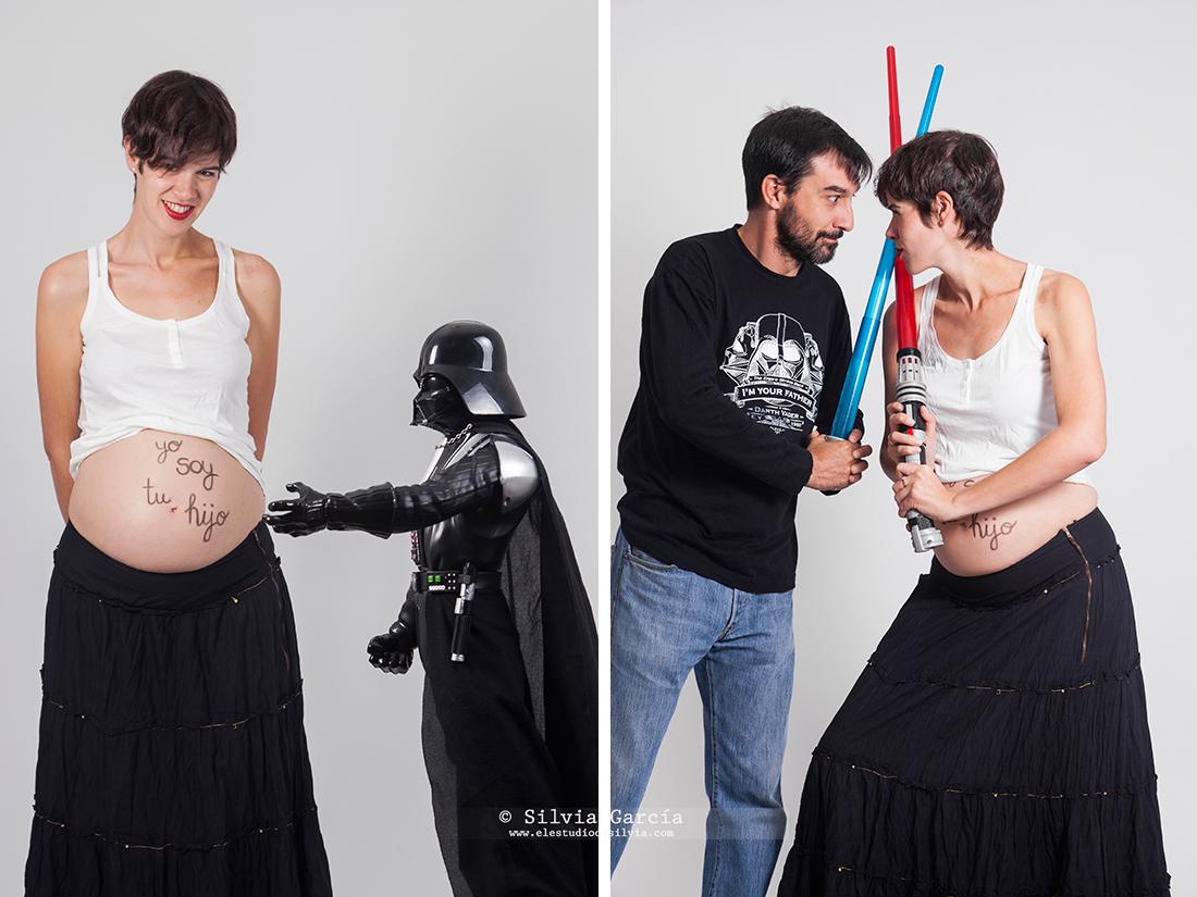 fotografía embarazo