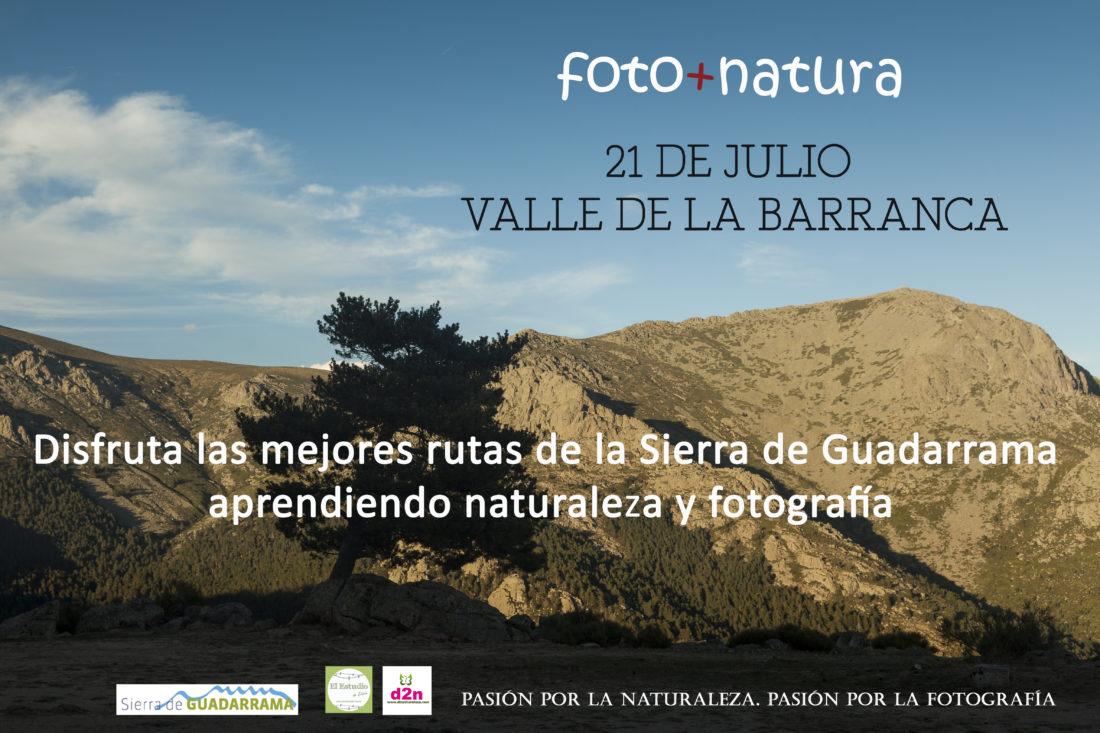 fotografía y naturaleza, foto+natura, Sierra de Guadarrama, curso de fotografía