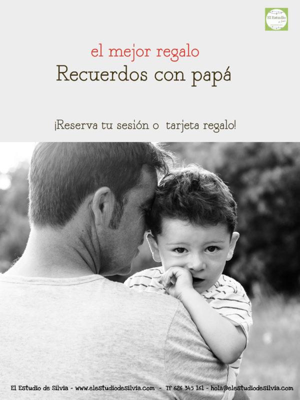 dia del padre, regala fotografia, promociones fotos, fotos con papa